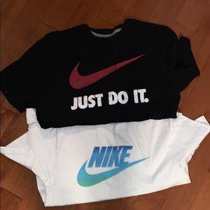 Two Nike Shirts